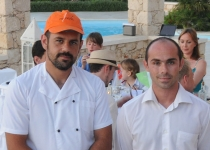 Chef Christos og-servitør Giorgos