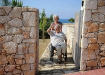 Gunnvor i handikapinngangen, Knossos 3
